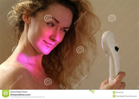 light therapy for wrinkles light therapy royalty free stock image image 35740746