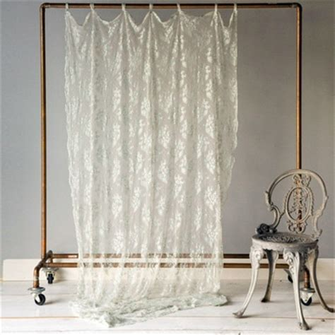 sheer lace curtain panels sheer lace curtains ivory baby girl pinterest