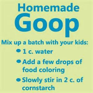 Homemade Play Kitchen Ideas how to make homemade goop kids easy craft idea apps