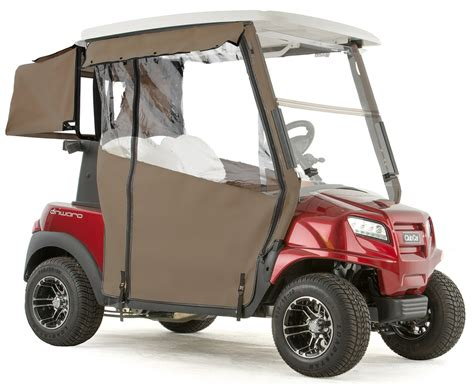 3 Sided Golf Cart Enclosures by Club Car Onward Quot Pro Touring Quot 3 Sided Sunbrella Track