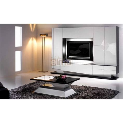 Meuble Living Tv by Living Meuble Tv Design Laque Fleur Meubles Elmo