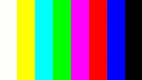 color pattern video hdmi output color space setting of dm8168 dm816x