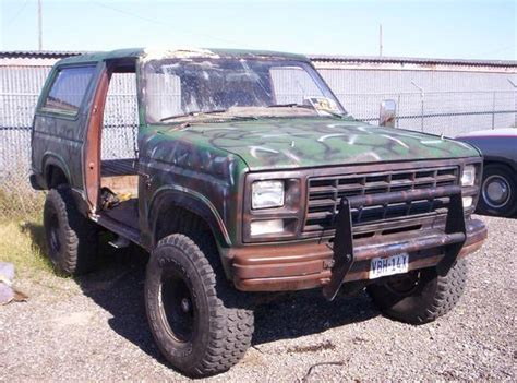 1980s ford bronco ford bronco 1980