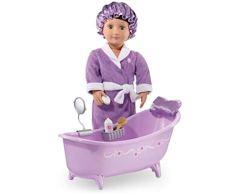 our generation bathtub slipper tub with bath and body set our generation dolls