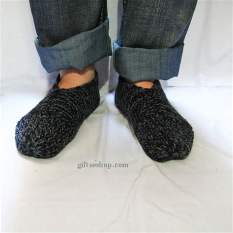 knitted slippers pattern with two needles easy slippers knit pattern for knit with two needles