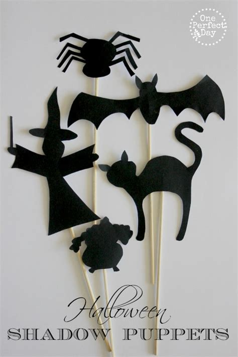 How To Make Paper Shadow Puppets - 16 paper crafts decorations activities the