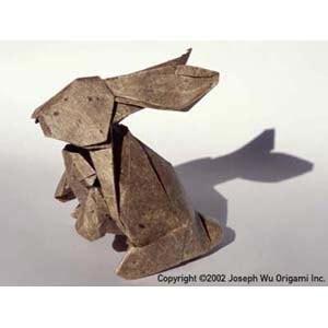 new year origami rabbit joseph wu s origami page