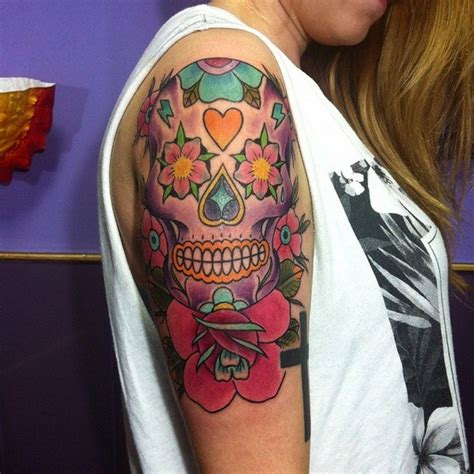 sugar skull tattoo designs tumblr 175 meaningful skull tattoos an ultimate guide september
