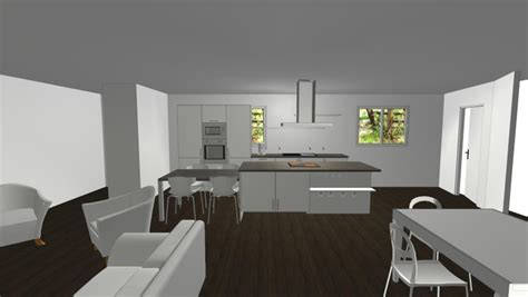 Decoration Maison Peinture by Int 233 Rieur De Maison Design De Cuisine Id 233 Es 3595