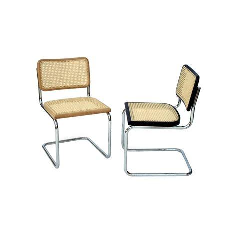 sedia marcel breuer sedia cesca marcel breuer in paglia novecento designperte it