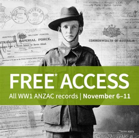 Ww1 Records Ancestry S Ww1 Records Are Free Until Remembrance Day
