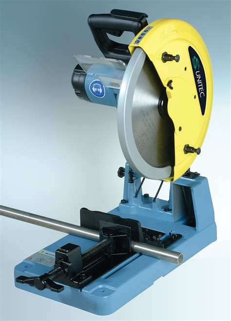 cut saw cut metal pipe plate and profiles with 14 inch chop saw
