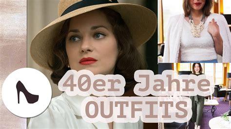 40er Jahre by 40er Jahre Mode Heute I Marion Cotillard Inspiriert I Nela