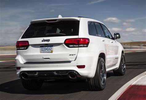 srt jeep 2017 jeep s grand cherokee srt for 2017 is more at home on the