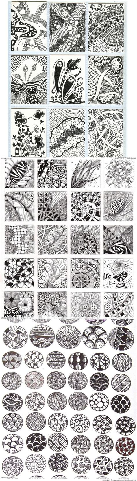 draw doodle decorate zentangle patterns ideas be careful zentangle is naff