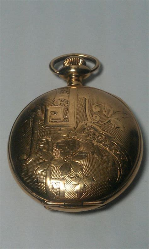 illinois co antique gold pocket