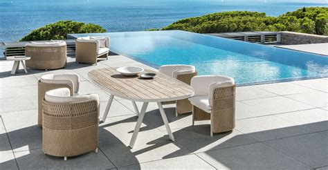 Design Table by Italian Garden Furniture Italian Outdoor Furniture Ethimo