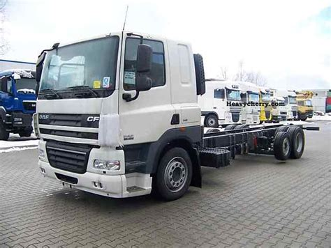 Truck Sleeper Cabs by Daf Cf85 460 Sleeper Cab 2011 Chassis Truck Photo And Specs