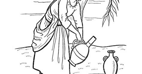 isaac bible story coloring page bible colouring pages