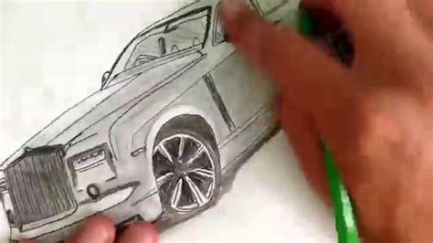 rolls royce logo drawing how to draw rolls royce easy drawing youtube