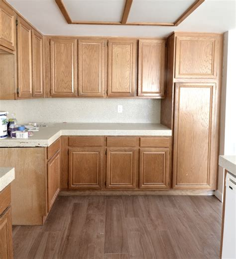 outdated kitchen cabinets renovation weekend centsational girl