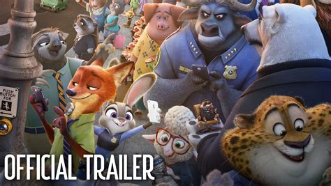 film cartoon zoo zootopia official us trailer 2 youtube
