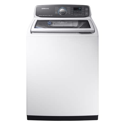samsung washer samsung wa52m7750aw a4 5 2 cu ft activewash top load washer white shop your way