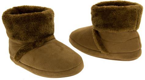 comfy slipper boots warm soft faux fur comfy winter slipper boots