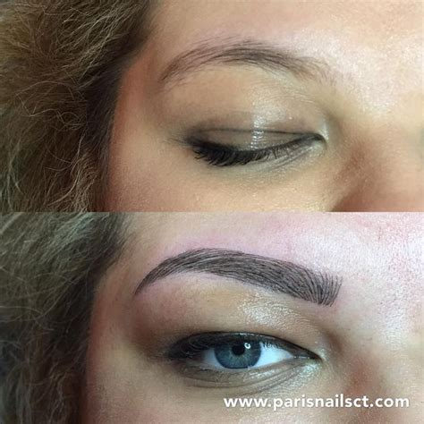 tattoo cost paris 18 best images about 3d microblading eyebrows on pinterest
