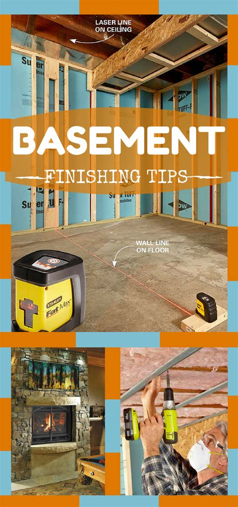 basement finishing on