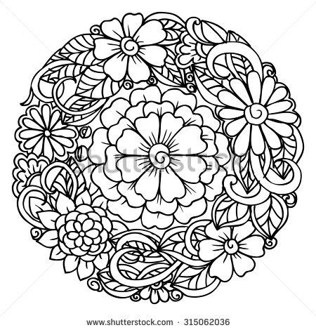 mandala coloring pages for relaxation emila s portfolio on