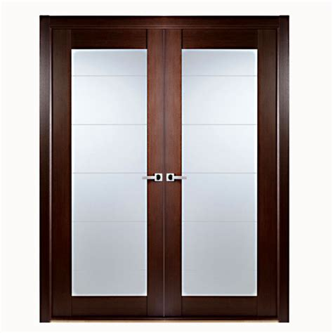 Glass Panel Closet Doors Aries Modern Interior Door With Glass Panels Aries Interior Doors