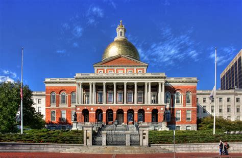 ma state house beacon hill public building in boston thousand wonders