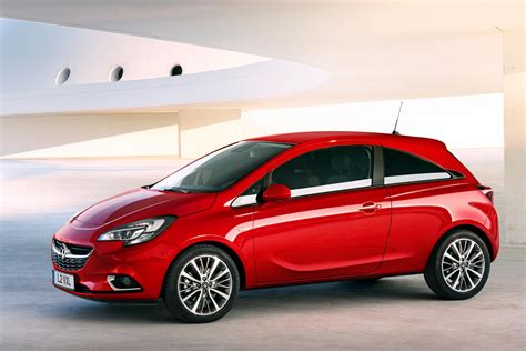2015 vauxhall corsa technical specifications and data