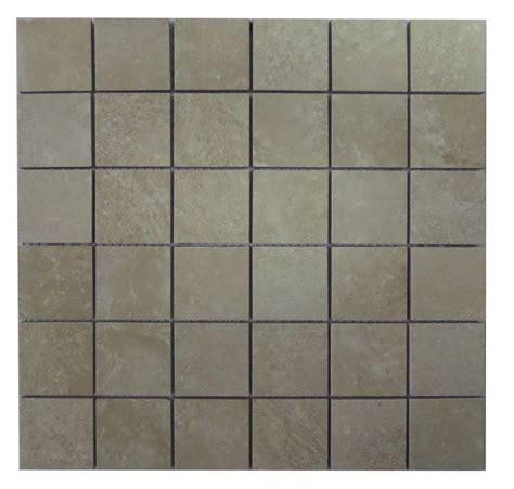 10 Inch Ceramic Tile by Finesse White 12 Inch X 12 Inch X 6mm Glazed Ceramic