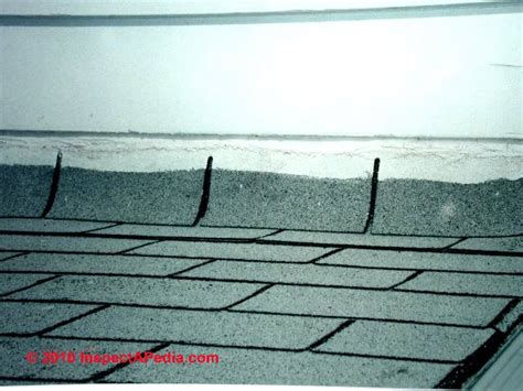 roof wall flashing errors    leaks