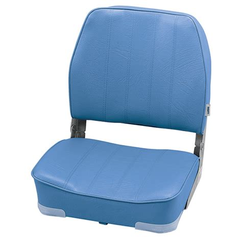 light blue boat seats wise seating promotional low back folding boat seat light