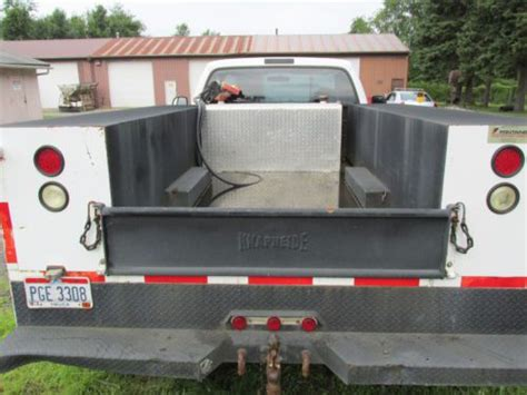 Diesel Tank For Truck Bed by Buy Used 2001 Ford F450 Utility Bed Diesel V8 Inbed Fuel