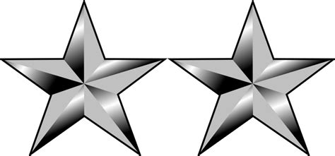 major general rank insignia bald runner