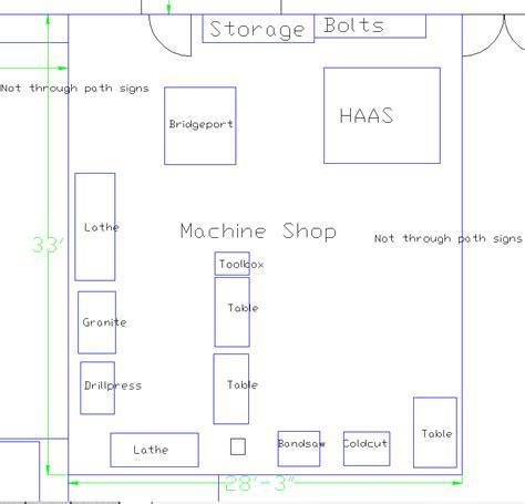 machine shop layout design machine shop layout ideas machine shop dallas