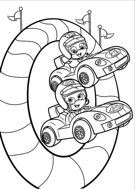 coloring pages to printable bubble guppies coloring pages best coloring pages for kids