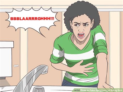 loud stomach noises won t eat 5 ways to symptoms of being sick wikihow