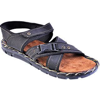 coye pu formal  sandals black prices  india