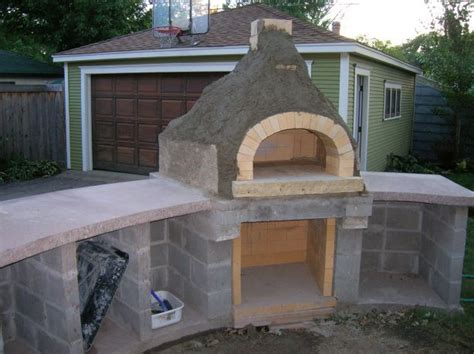 build a backyard pizza oven outdoor furniture design and