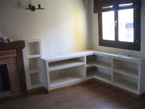 estantes de pladur estanter 237 a en pladur para hueco bajo ventana mecanizados