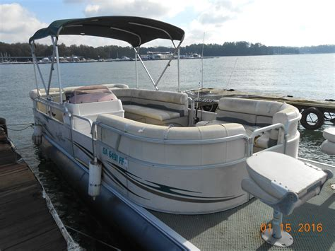 new and used pontoon and deck avalon boats for sale on - Used Fishing Pontoon Boats For Sale