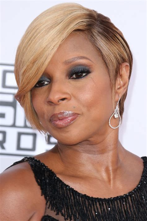 J Blige Hairstyles by Photos Of Black Hairstyles J Bliges Sophisticated Bob