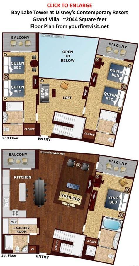 Disney Floor Plans - 17 best images about disney floor plans on