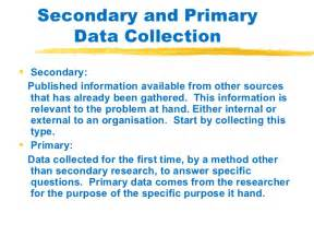 Primary Education Research Papers by Primary Vs Secondary Research Ig