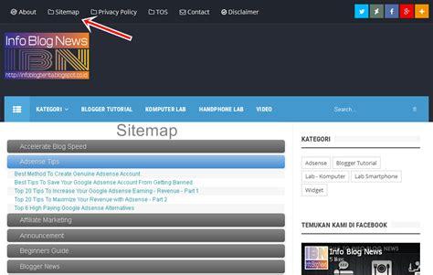 cara membuat model virus influenza cara membuat sitemap daftar isi blog responsive di